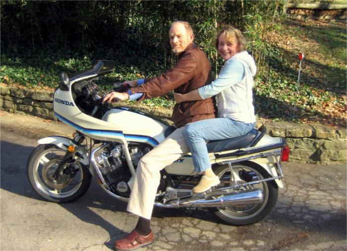 Tim and Cathrine Rush-Ossenbeck